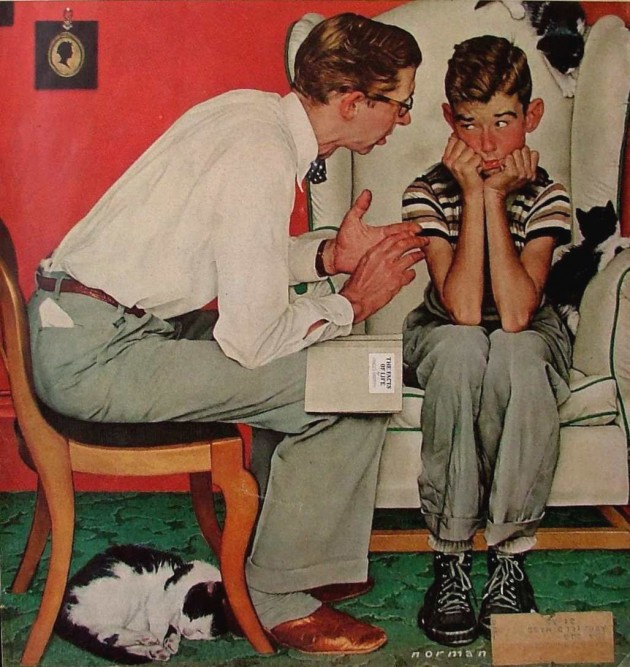 Facts of Life Norman Rockwell